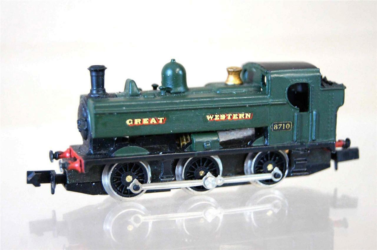 GRAHAM FARISH KIT BUILT LANGLEY GWR 060 classe 87XX PANNIER TANK LOCO 8710 mx