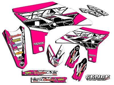 Black Star Style team grafico DECALCOMANIE for Yamaha YZ250F YZF250 2010 2011 2012 2013 YZ 250F YZF 250 Decalcomanie protettive
