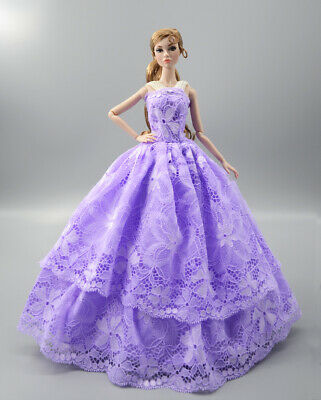 Fashion Princess Party Dress//Evening Clothes//Gown For 11.5 inch Doll b15