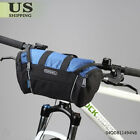 Roswheel Bicycle Front Basket Tube Pannier Frame Cycling Handlebar Bag