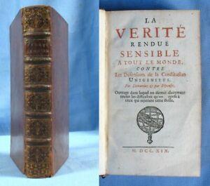 La-VERITE-RENDUE-SENSIBLE-a-TOUT-le-MONDE-par-A-Dussaussoy-Edition-1719