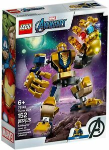 LEGO-76141-Thanos-Mech-MARVEL-Brand-new-amp-sealed-AU-SELLER