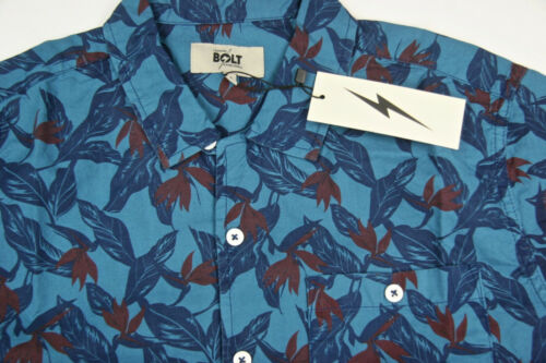 Lightning Bolt Country Blue Surf Pocket Floral Lightning Bolt 100/% Cotton Bolt