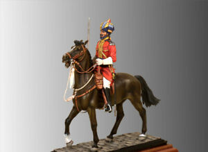 Soldier of 15th Regiment of Bengal Native Infantry Tin Painted Toy SoldierArt