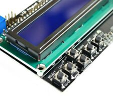 Blue 16x2 (1602 / HD44780) LCD Screen Keypad Shield for Arduino UNO, MEGA 2560