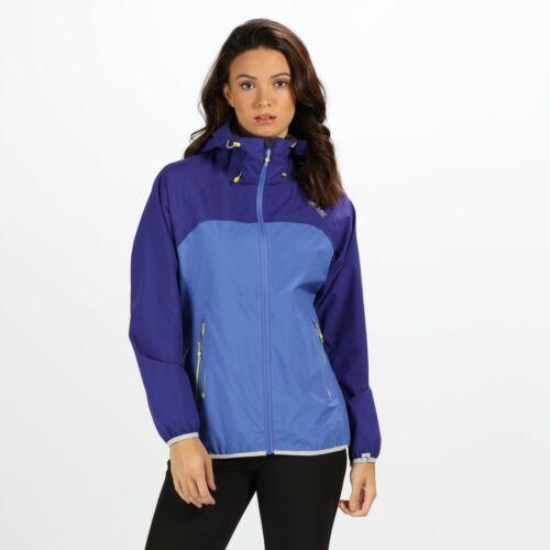 Regatta Women/'s Imber II Lightweight Waterproof Jacket Blue