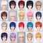 Straight-For-Cosplay-Costume-Party-Hair-Wigs-High-Temperature-Fiber-Synthetic thumbnail 1