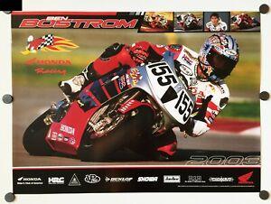 Vintage Poster 2003 Honda Racing RC51 Superbike Ben Bostrom HRC