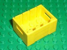 Caisse jaune LEGO yellow container 30150 / set 3186 60125 75092 75094 75151 7286