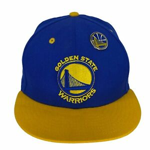 New Era Golden State Warriors NBA Two Tone Logo Emblem 9Fifty Snapback Hat