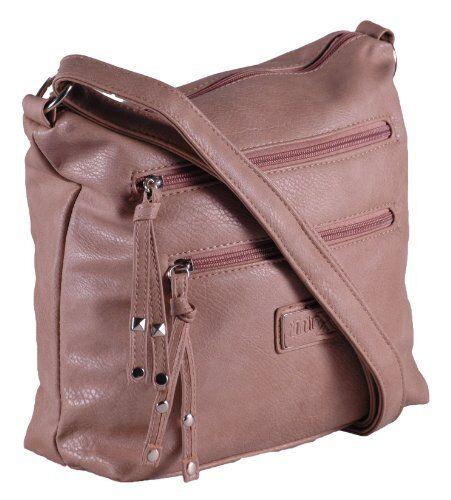 Womens Faux Leather Plain Cross Body Messenger Shoulder Handbag Purse Ladies Bag