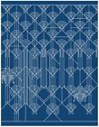 Frank Lloyd Wright Liberty Patterns Luxe Notecard Set by Galison 9780735346932