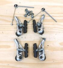 Shimano Bicycle Bike Cantilever Brakes Front and Rear with Hardware