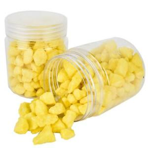 Pierres-Deco-Granules-Gros-300g-Jaune-Decoration-de-Table-1-33-Eur-100-G