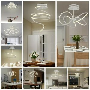Design LED Plafoniera, Lampada A Sospensione Luce, Tavolo ...