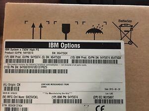 IBM System x 750W High Efficiency Platinum AC Power Supply 94Y5974