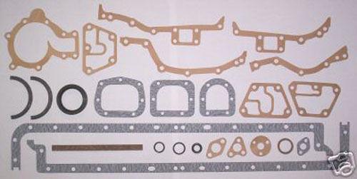 Jaguar 4.2 Antiguo E-Type Serie 1 y 2 Parte Inferior Junta Conjunto De hasta 1968