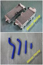 Aluminum radiator & Silicone Hose Kit Yamaha YZ125 yz 125  2-STROKE 1996-2001