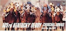 1977 KENTUCKY DERBY HORSE RACING PROGRAM - SEATTLE SLEW - MINT CONDITION!