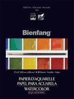 Bienfang Watercolor Paper Pad Aquademic 9 X 12 90 Lb 15 Sheets