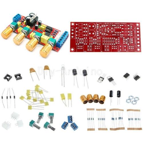 NE5532 HIFI Preamp Pre-amplifier Tone Board  Treble Alto Bass Volume Control