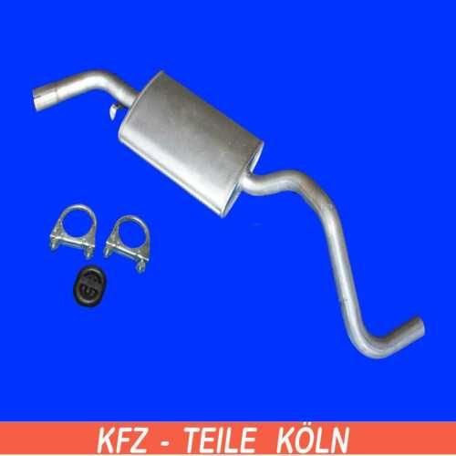 2.5 SYNCRO  70X/_ Mittelschalldämpfer Auspuffanlage Montagesatz VW T4 2.4D
