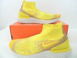 Image is loading Nike-Rise-React-Flyknit-Limited-Running-Shoe-Sonic- 0f46c507d
