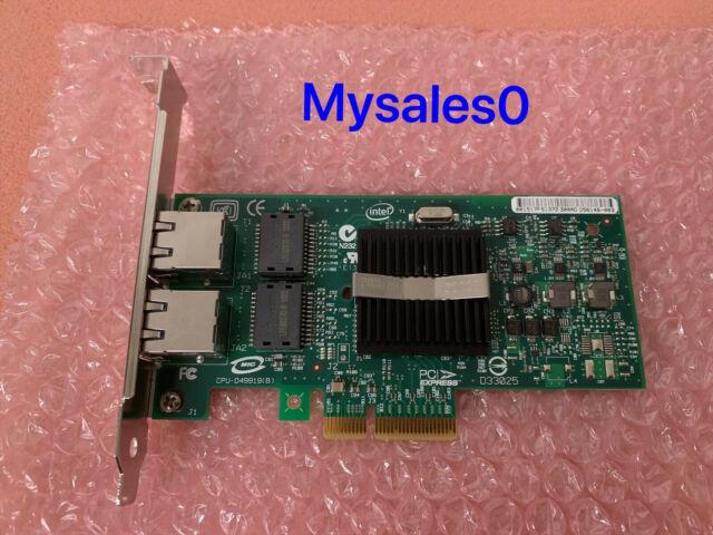 IBM / Intel PRO/1000 PT DUAL PORT GIGABIT ETHERNET PCIe NIC Card 39Y6127 39Y6128