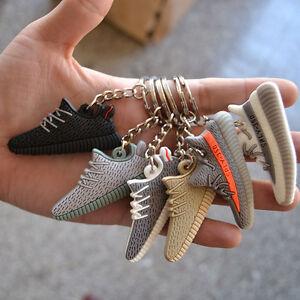 Style Silicone Keychain Sneaker 3D Key Chain Keys   eBay