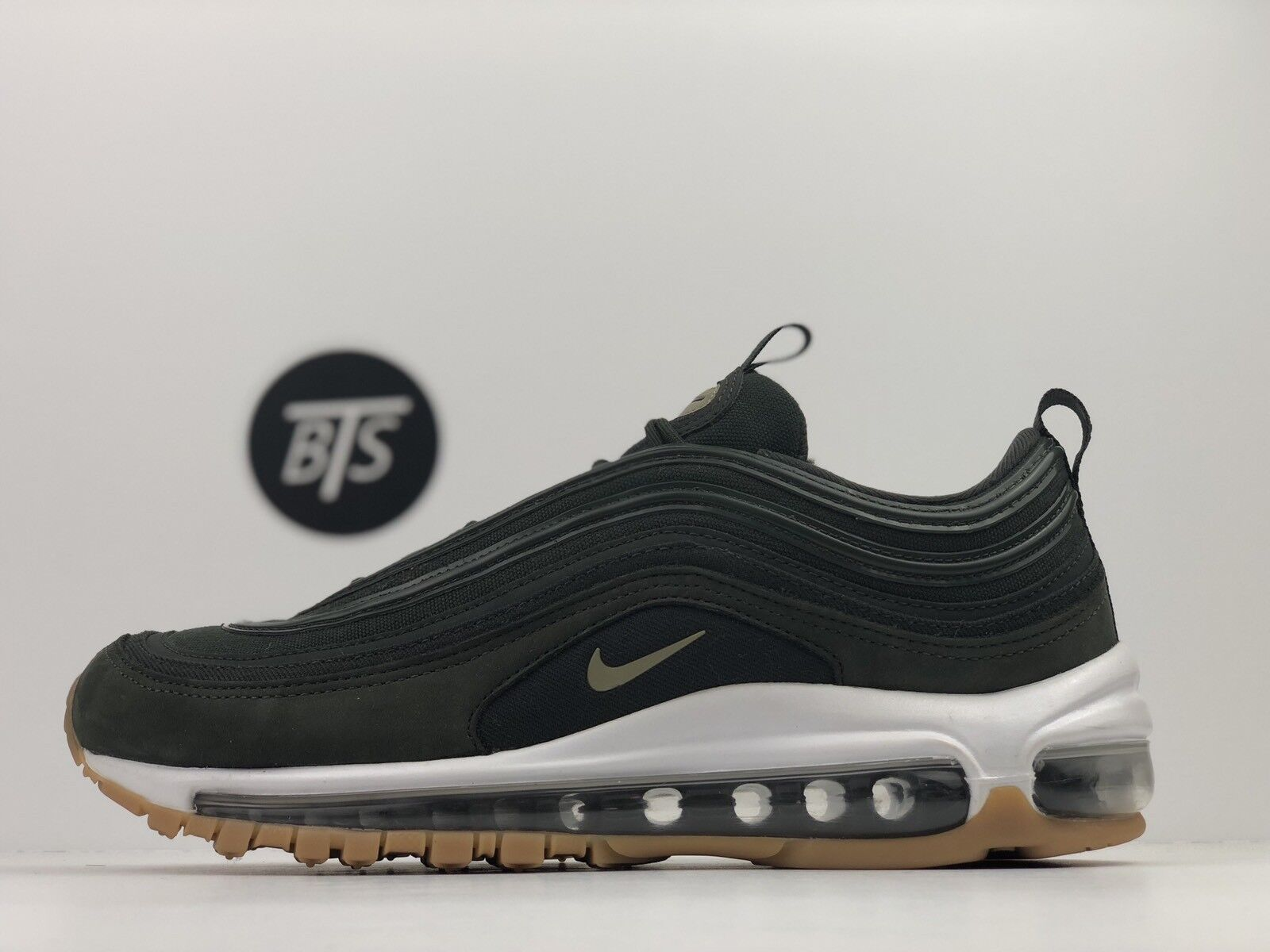 "Women's Neutral Nike Air Max 97 UL ""Sequoia"" Size-10 Neutral Women's Olive Green (AJ2248 300) 0436ea"