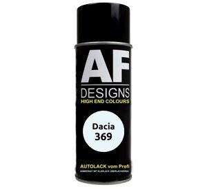 Autolack Spraydose Dacia  369 Arktisweiss Basislack Sprühdose 400ml