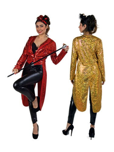 Frack für Damen Showgirl Karneval Kostüm