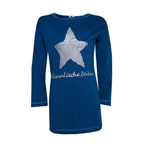 """LOUIS /& LOUISA /"""" Himmlische Zeiten /"""" Nachthemd blau mit Stern Gr.92-128 NEU"""