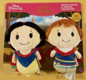Blanche-neige Prince Charmant Itty Bitty D23 2017 Expo Disney Limitée Edition Le