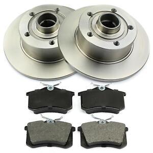 Bremsen-hinten-Audi-A4-8D2-B5-Avant-ab-Fgst-Nr-8D-V-1600001-Bremsscheiben-Belaege