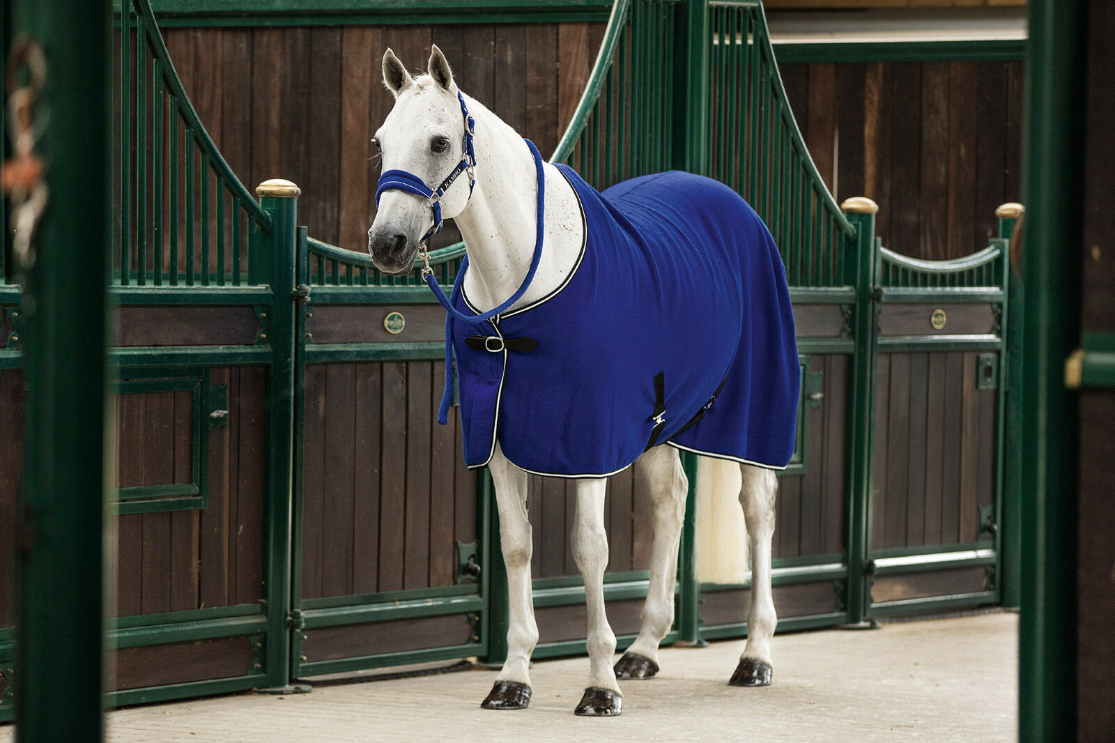 Horseware Rambo Lana Alfombra Enfriador estable viajes Capa Hoja Azul Real 5' 0  -7' 3