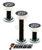 3 Silver Billet Vent Windshield Bolts For 14-up Harley - Pow Mia Usa 6ej