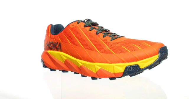Hoka One One Mens Torrent Orange Running Shoes Size 11.5 (1483271)