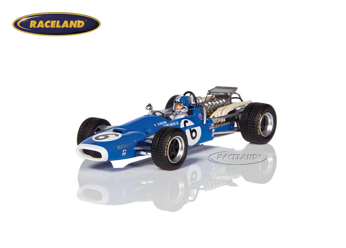 MATRA ms11 MATRA v12 f1 9 ° GP France 1968 Jean-Pierre Beltoise, SPARK 1 43