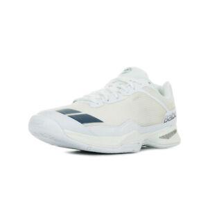 Chaussures-Babolat-unisexe-Jet-Team-AC-Wimbledon-Tennis-taille-Blanc-Blanche