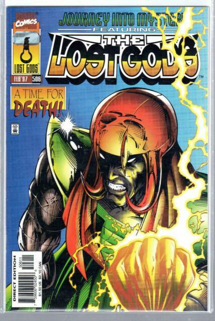 JOURNEY INTO MY MYSTERY MARVEL THE LOST GODS   #506  ( Feb. 97 )  EXC. COND.