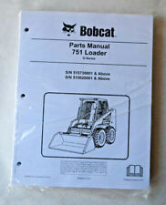 Bobcat 751 G Series Skid Steer Loader Parts Manual 2015