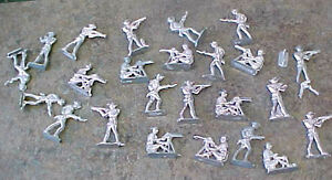Details about Vintage Lead? Pewter? aluminum? WWII? toy soldiers 2