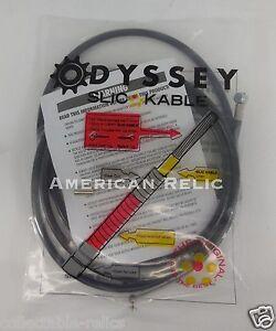 Odyssey-Slic-Kable-Black-BMX-Bike-Brake-Cable-Slick-Teflon-V-U-Old-School-MTB