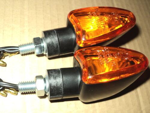 2 Yamaha TURN SIGNAL BLACK FZS,1000,600,FAZER,YZFR1,YZFR6,TW200,MX 250,IT250