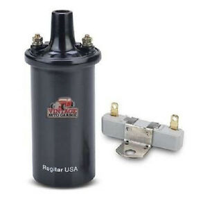 ignition coil 6 volt oil filled coil hot spark with ...