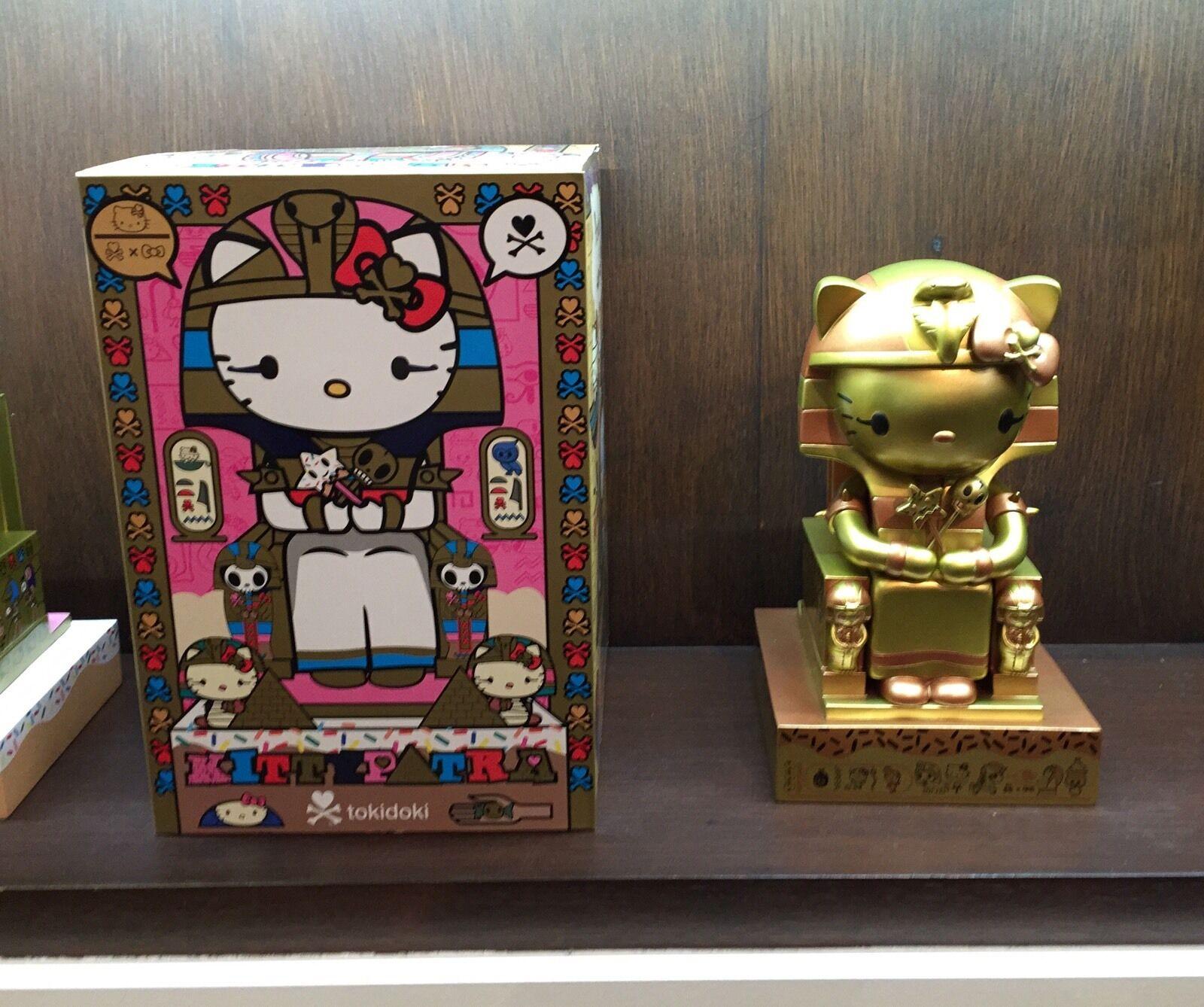 Tokidoki X Hello Kitty Edición Limitada (500 Piezas) kittypatra Oro De 10 Pulgadas Vinilo Nuevo En Caja