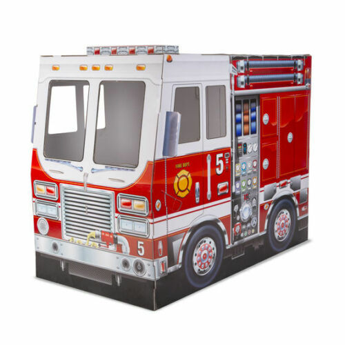 15511 Melissa and Doug Fire Truck Indoor Playhouse NEW!