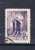 Polen Briefmarken 1948 Tag des Meeres Mi.Nr.490