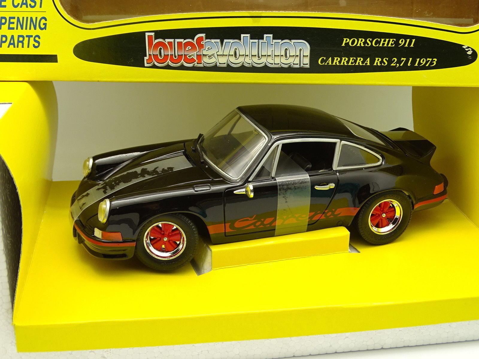 Jouef entwicklung 1   18 - porsche 911 rs 2.7 1973 schwarz